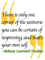 Huxley Personal Growth Barrier Quote