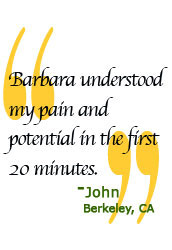 John private Therapy client quote